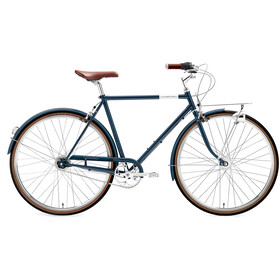 Creme Caferacer Doppio 7-speed Heren, midnight blue